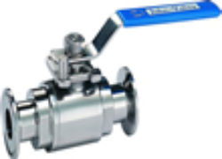 DJV-2NST (Full Bore) Polished T-Clamp Sanitary