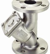 DJV-YS (Full Bore) Flanged Y-Type Strainer